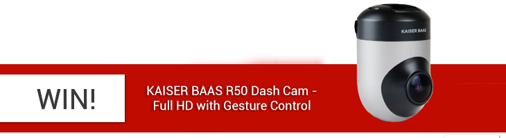 Win  a Kaiser Baas R50 Dashcam